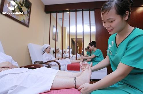 Dịch vụ chăm sóc đôi chân khỏe mạnh