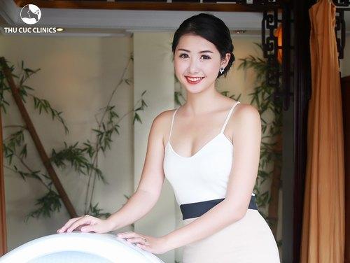Phương pháp tắm trắng tại Thu Cúc Clinics cho làn da trắng hồng, mịn màng.