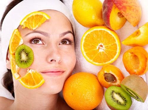 Các loại rau quả tốt cho da mụn.