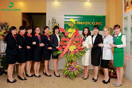Thu Cúc Clinics có gần 20 năm đồng hành cùng phái đẹp Việt.