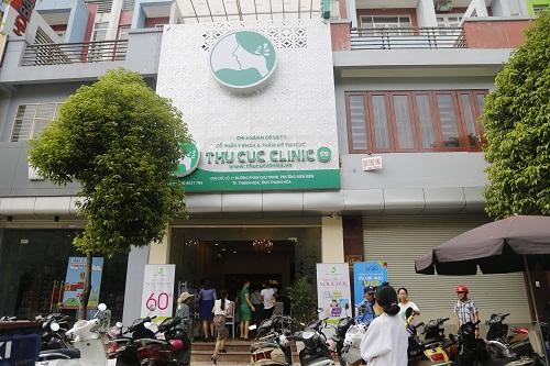 Nằm ở vị trí đắc địa, nổi bật trên phố Phan Chu Trinh tại Thành phố Thanh Hóa, Thu Cúc Clinic tạo điều kiện thuận lợi cho khách hàng đến làm đẹp và thư giãn.