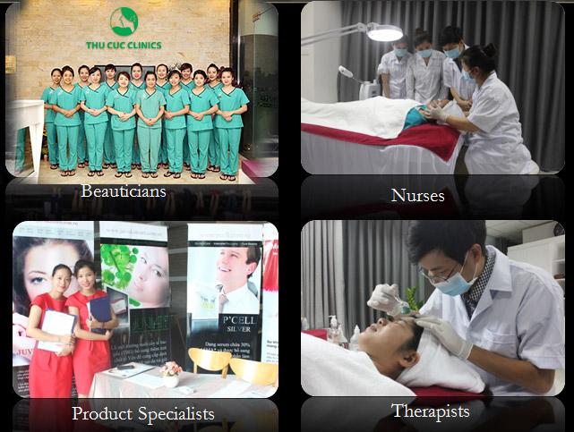 Hiện nay, tại Việt Nam, làm đẹp bằng P'cell được ứng dụng độc quyền ở Thu Cúc Clinics – thương hiệu chăm sóc và điều trị thẩm mỹ da uy tín hàng đầu từ năm 1996.