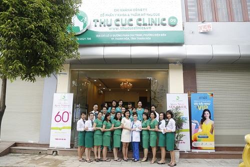 Nhờ đội ngũ bác sĩ chuyên môn cao cùng với các kỹ thuật viên là điều dưỡng viên được đào tạo bài bản, Thu Cúc Clinic trở thành sự lựa chọn hàng đầu cho các chị em có nhu cầu làm đẹp.