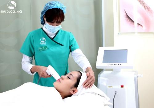 Công nghệ Thermage kích thích tăng sinh collagen, cho da căng mịn tự nhiên, trẻ hóa lâu dài.