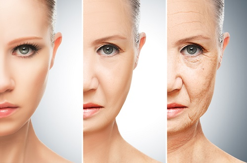Lão hóa da là quá trình tự nhiên của cơ thể.