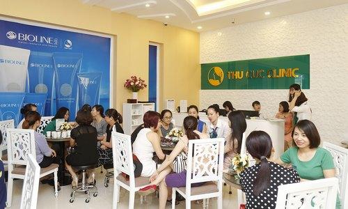 Rất đông chị em đến Thu Cúc Clinic để trải nghiệm các dịch vụ thẩm mỹ cao cấp.