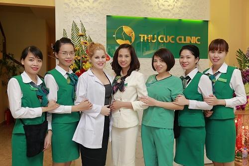 Đội ngũ bác sĩ, chuyên viên thẩm mỹ uy tín tại Thu Cúc Clinics.
