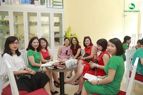 Thu Cúc Clinics là địa chỉ uy tín cho các chị em có nhu cầu làm đẹp.