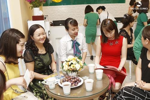 Thu Cúc Clinics dành rất nhiều ưu đãi hấp dẫn cho các chị em nơi đây.
