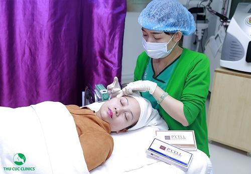 Khi kết hợp với lăn vi kim, các hoạt chất từ P'cell thẩm thấu sâu vào da, phát huy tối đa hiệu quả làm đẹp.