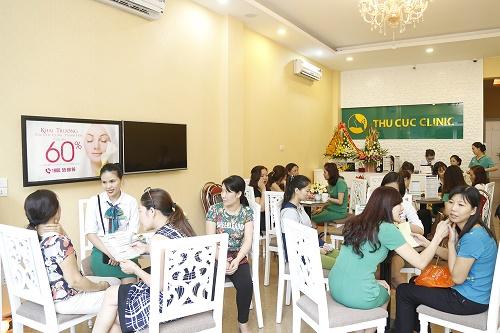 Với hàng triệu chị em tin chọn, Thu Cúc Clinics luôn được coi là thương hiệu uy tín hàng đầu trong lĩnh vực chăm sóc và điều trị thẩm mỹ da từ suốt những năm 1996.