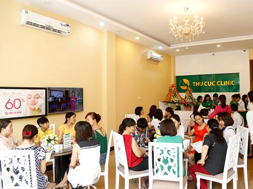 Thu Cúc Clinics là địa chỉ làm đẹp uy tín, được nhiều khách hàng tin chọn.