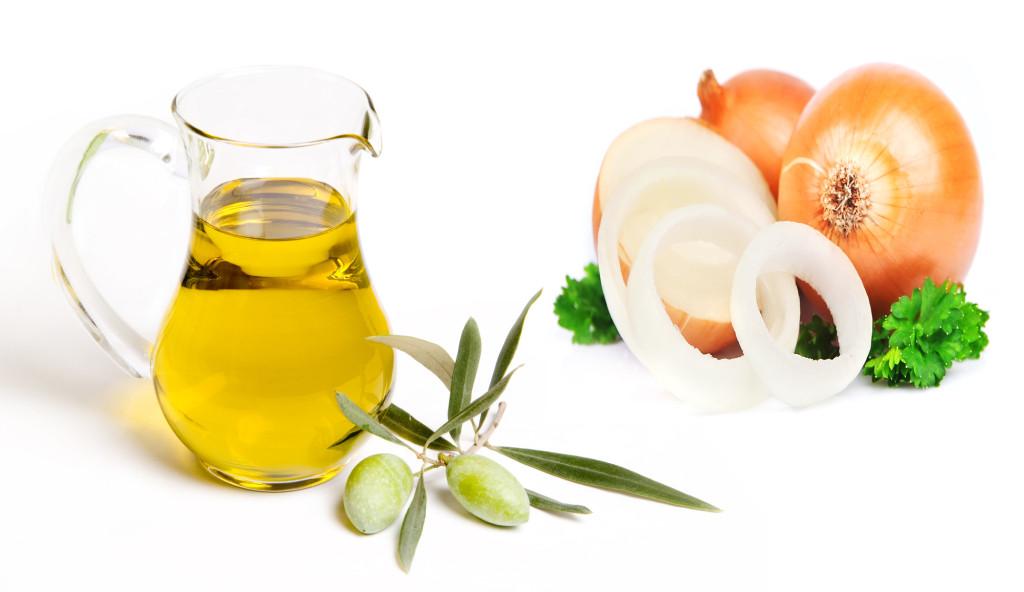 Hỗn hợp hành tây và dầu oliu giúp điều trị sẹo lõm hiệu quả