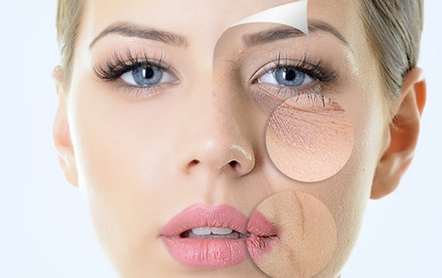 Làn da khô rất dễ gặp phải tình trạng lão hóa sớm nếu không được chăm sóc và bảo vệ đúng cách.