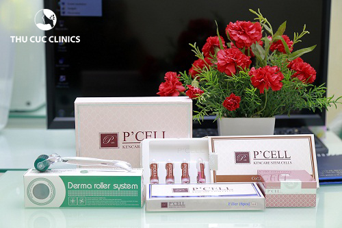 Sản phẩm P'cell được sử dụng độc quyền tại Thu Cúc Clinics.