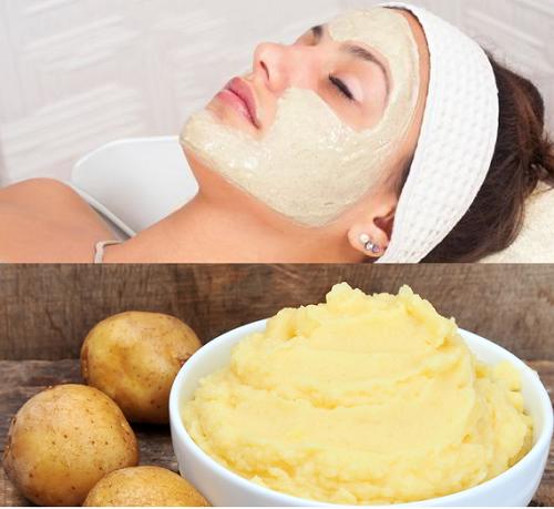 Mặt nạ khoai tây vừa dưỡng ẩm, làm sáng da lại thu nhỏ lỗ chân lông hiệu quả
