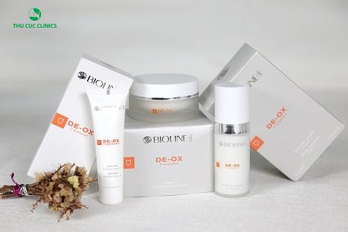 Liệu trình chăm sóc chuyên sâu sử dụng sản phẩm De-ox C từ thương hiệu danh tiếng Bioline
