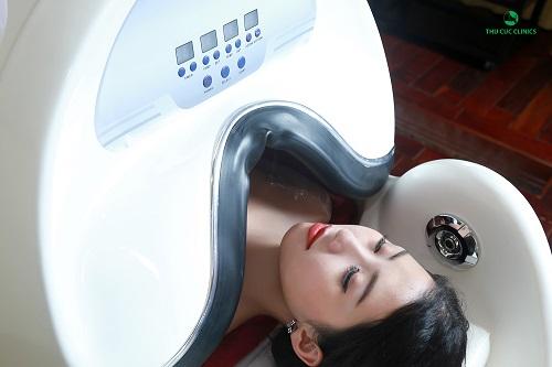 Tắm trắng phi thuyền tại Thu Cúc Clinics đem lại hiệu quả tối ưu cho khách hàng