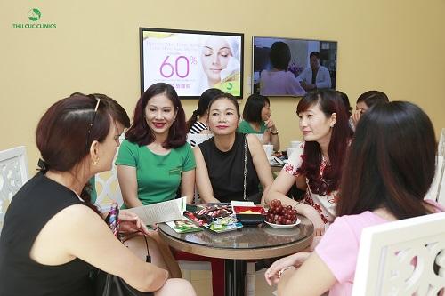 Dịch vụ trị mụn tại Thu Cúc Clinics nhận được quan tâm đông đảo chị em