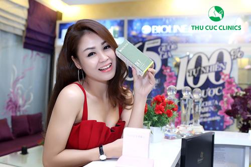 Diễn viên Thu Trang rất yêu thích dòng sản phẩm chống lão hóa 24.7 Natural Balance của Bioline Jato.