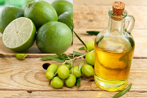 Dầu oliu và chanh vừa trị mụn, giảm thâm lại làm sáng da hữu hiệu