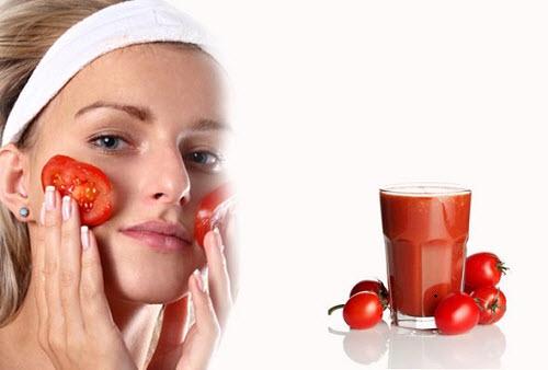 Các dưỡng chất có trong cà chua đem đến khả năng trị mụn bọc hiệu quả tại nhà