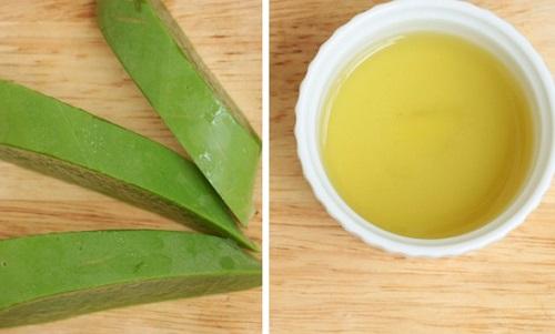 Nha đam và trà xanh đều là thần dược cho làn da.