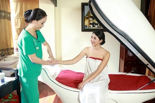 Tắm trắng phi thuyền tại Thu Cúc Clinics đem đến hiệu quả tối ưu cho người thực hiện