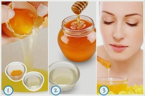 Thoa hỗn hợp mật ong, trứng gà mỗi ngày giúp cải thiện tình trạng mụn bọc hiệu quả
