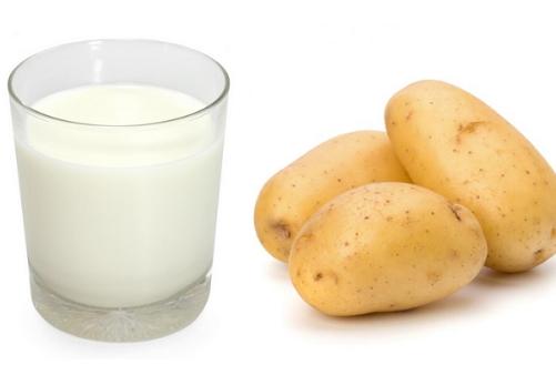 Trị mụn ở má bằng khoai tây sữa chua mang lại hiệu quả tối ưu