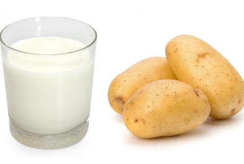 Chà hỗn hợp khoai tây, sữa chua lên da mỗi ngày giúp dưỡng trắng hiệu quả