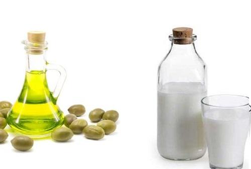 Làm trắng da bằng dầu oliu, sữa tươi là phương pháp đơn giản nhưng đem đến hiệu quả cao