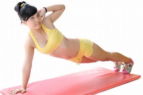Tập thể dục thường xuyên giúp vóc dáng thon gọn
