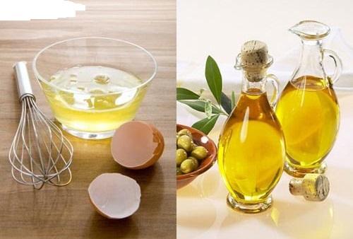 Thoa hỗn hợp dầu oliu lòng trắng trứng gà mỗi ngày giúp cải thiện màu da như mong muốn