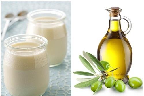 Tinh chất nước vo gạo, dầu oliu chứa nhiều dưỡng chất đem đến khả năng dưỡng trắng da tại nhà