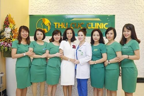 Đội ngũ kỹ thuật viên tại Thu Cúc Clinics có trình độ thẩm mỹ, y khoa bài bản