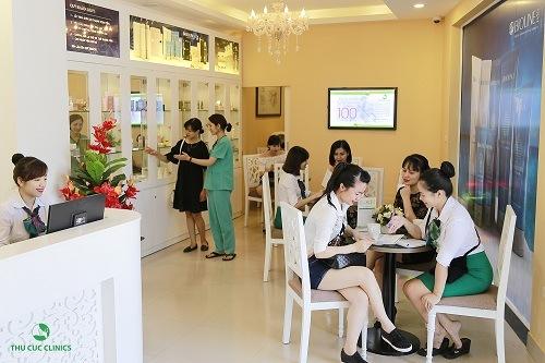 Dịch vụ làm đẹp tại Thu Cúc Clinics được đông đảo chị em quan tâm