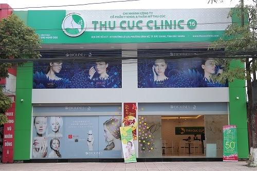 """Nhằm đáp ứng mục tiêu """"Ở đâu phụ nữ muốn làm đẹp, ở đó có Thu Cúc"""", ngày 16.01.2017 vừa qua Thu Cúc Clinics đón chào thành viên thứ 16 tại thành phố Bắc Giang."""
