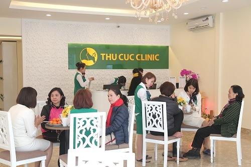 Khách hàng đến làm đẹp tại Thu Cúc Clinic Bắc Giang được tiếp đón tận tình, chu đáo
