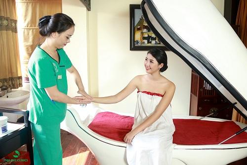 Liệu trình tắm trắng khoa học, trang thiết bị hiện đại, tiên tiến, rút ngắn thời gian làm đẹp, cho hiệu quả thẩm mỹ tối đa.