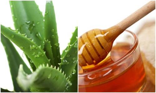"""Cả nha đam và mật ong đều là """"thần dược"""" có tác dụng dưỡng da trắng khỏe như ý."""