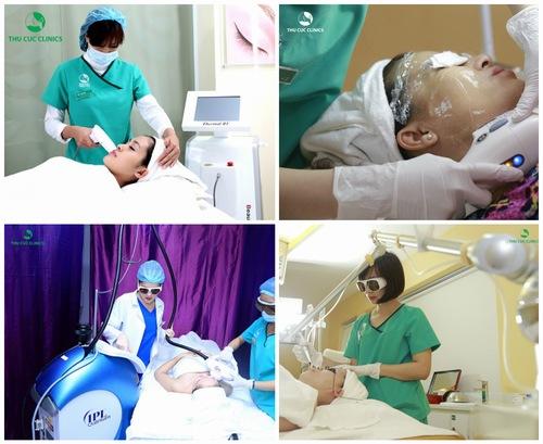 Công nghệ trẻ hóa da Thermage, nâng cơ xóa nhăn Hifu hay trị nám bằng laser hiện đại là những dịch vụ cực HOT tại Thu Cúc Clinics.