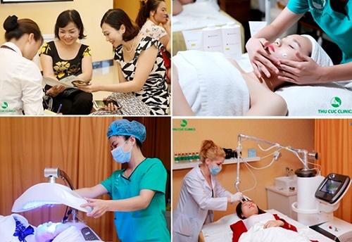 Đa dạng dịch vụ làm đẹp da cao cấp được Thu Cúc Clinics mang đến cho phái đẹp với ưu đãi cực hấp dẫn dịp khai trương