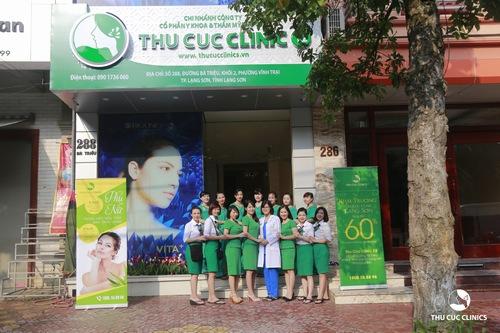 Thu Cúc Clinics mở rộng hệ thống, xây dựng cơ sở làm đẹp cao cấp tại Lạng Sơn.