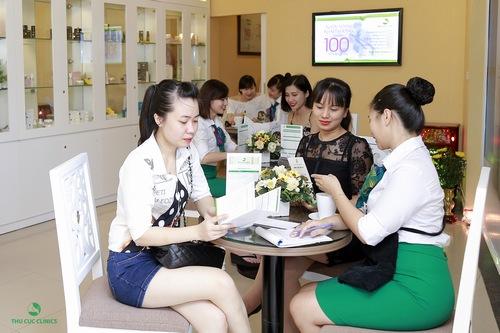 Rất nhiều chị em quan tâm đến dịch vụ tắm trắng khi đến làm đẹp Tại Thu Cúc Clinic Đà Nẵng.