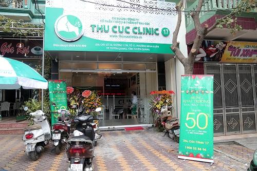 """Với tiêu chí """"Ở đâu phụ nữ muốn làm đẹp, ở đó có Thu Cúc"""", hệ thống Thu Cúc Clinics chào đón thành viên thứ 12 ra đời tại vùng biên giới Lạng Sơn vào trung tuần tháng 9.2016 vừa qua."""