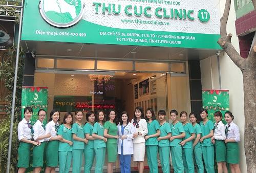 Với đội ngũ bác sĩ uy tín và kỹ thuật viên là điều dưỡng viên được đào tạo bài bản, Thu Cúc Clinics luôn là sự lựa chọn hàng đầu của phái đẹp Việt.