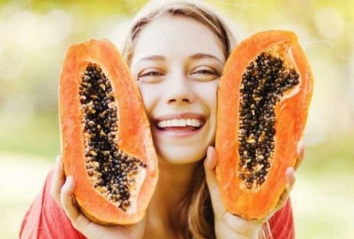 Đu đủ chứa nhiều dưỡng chất đem đến khả năng làm đẹp hiệu quả