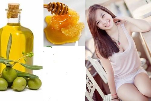 Thoa dầu oliu, mật ong lên da mỗi ngày có khả năng cải thiện làn da thâm sạm sần sùi