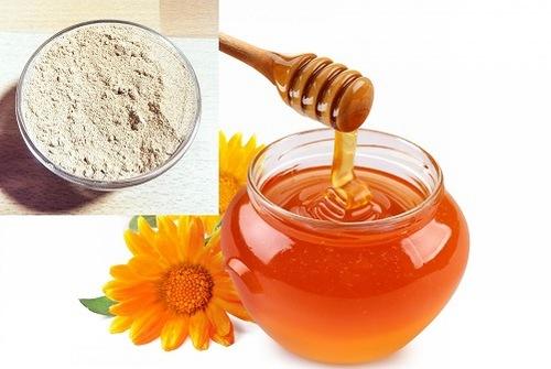 Mật ong, bột đậu nành chứa nhiều dưỡng chất đem đến khả năng triệt lông hiệu quả